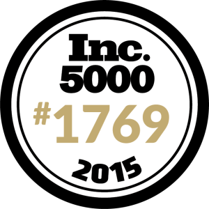 #1769 fastest growing private company in America.